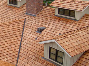 Roofing Contractors - Wood-Shake-Residential-Roofing