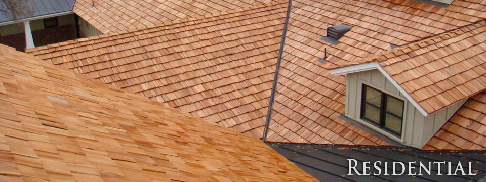 Wood Shake Residential Roofing - SMART Roofing Inc
