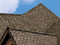Roof shingles serve both form and function