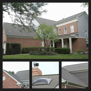 Glenview roof collage