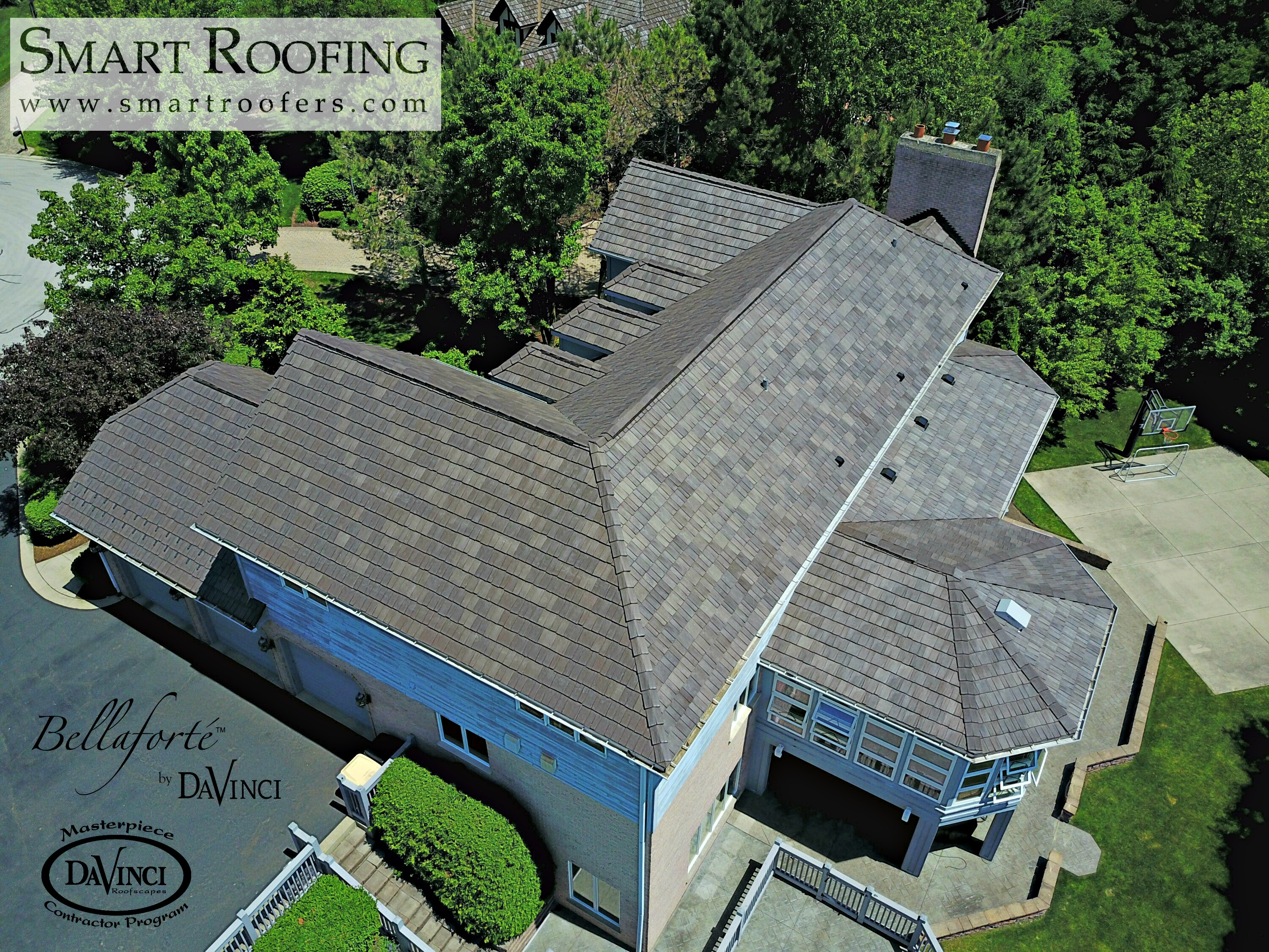 Bellaforté Shake Roofing Tiles Will Not Break Like Natural Shake Tiles U2013  Eliminating Material Waste. They Also Resist Curling, ...