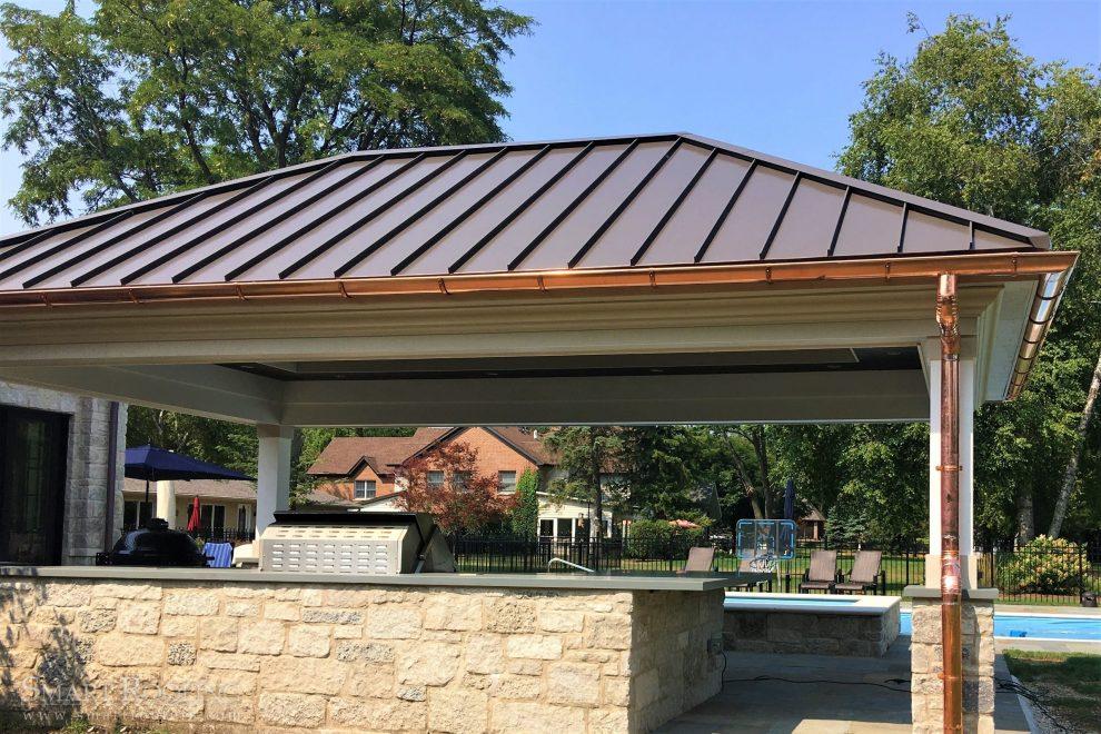 metal roof standing seam roof