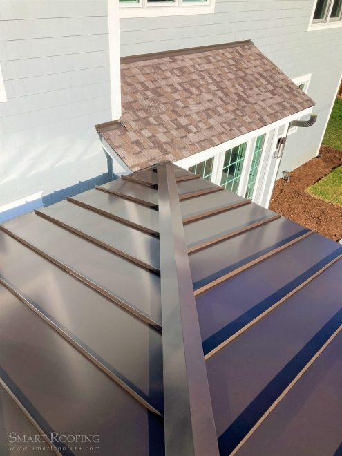 Metal roof Arlington heights