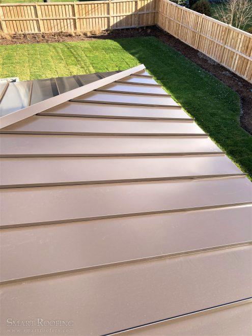standing seam metal roof Arlington heights
