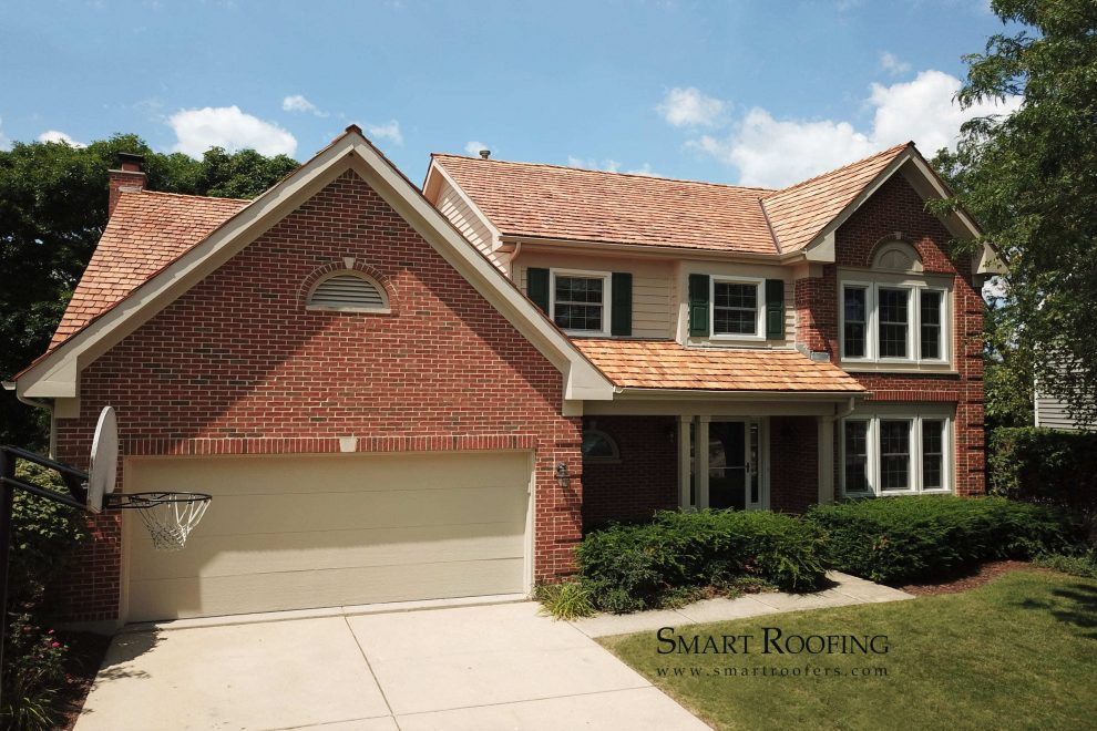 Palatine cedar shake roof