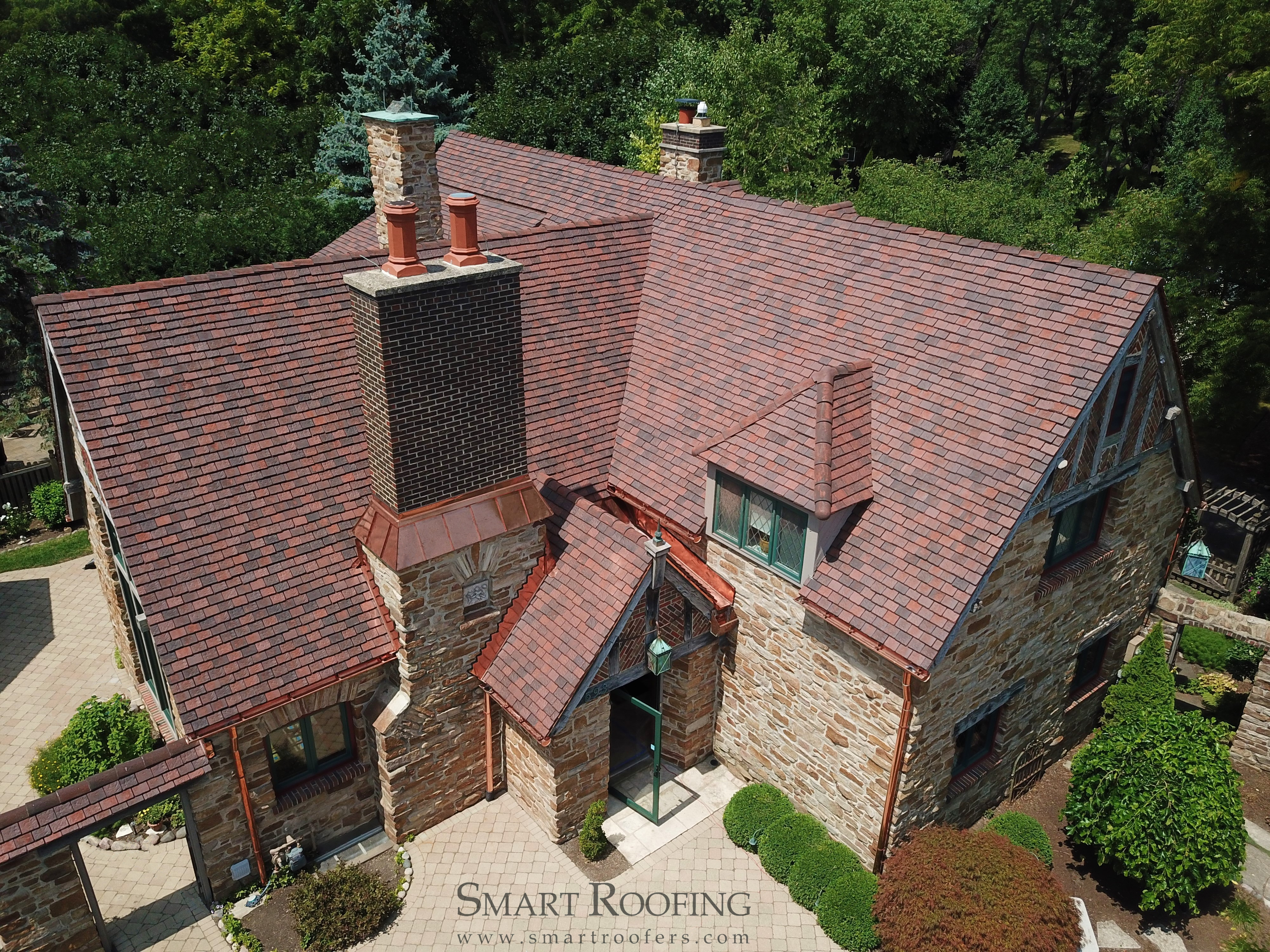 Hail Damaged Tile Roof Replacement In Schaumburg Smart
