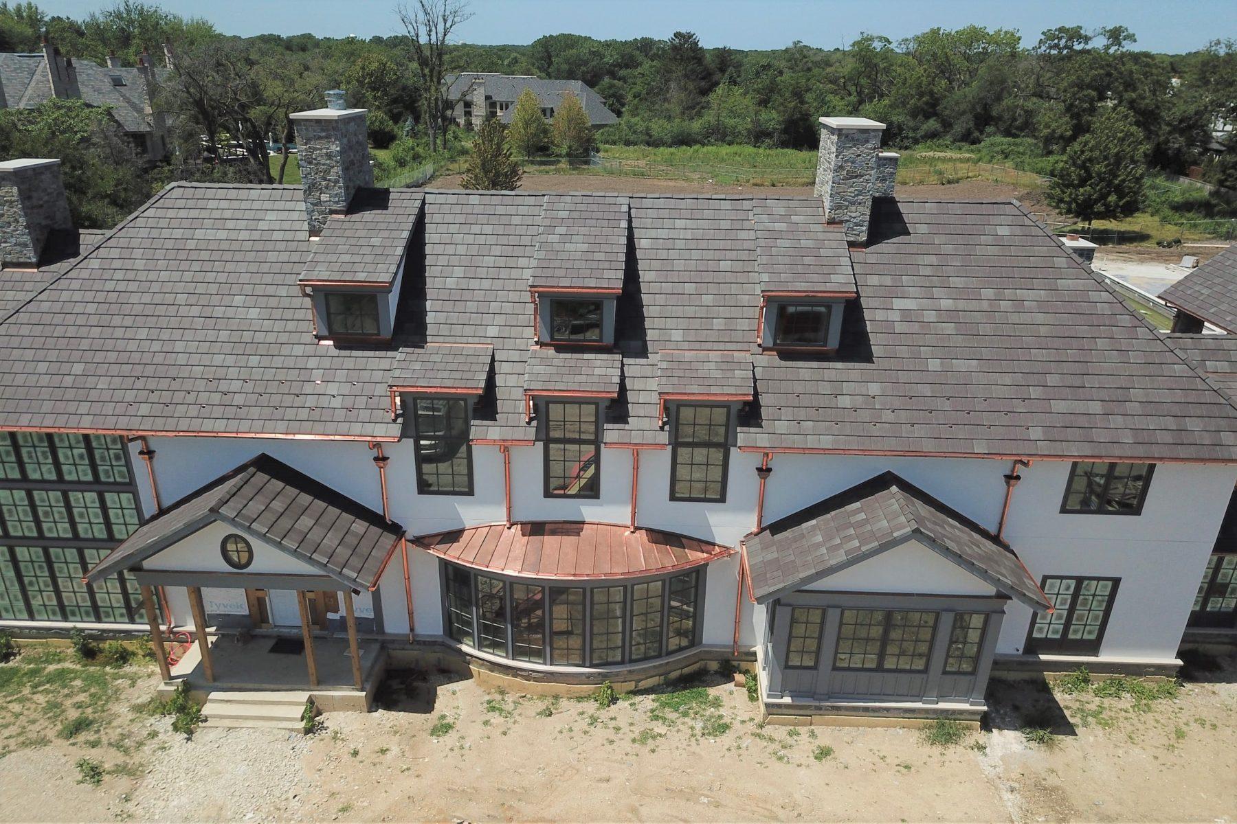 burr ridge tile roofing front view