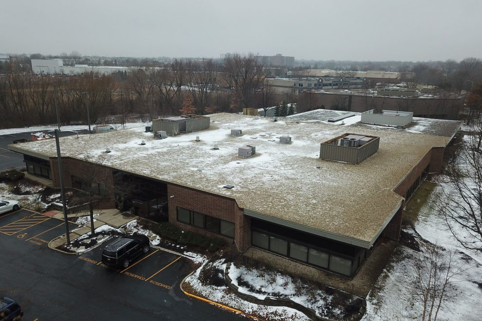 Carlisle EPDM Flat Roof Ballasted