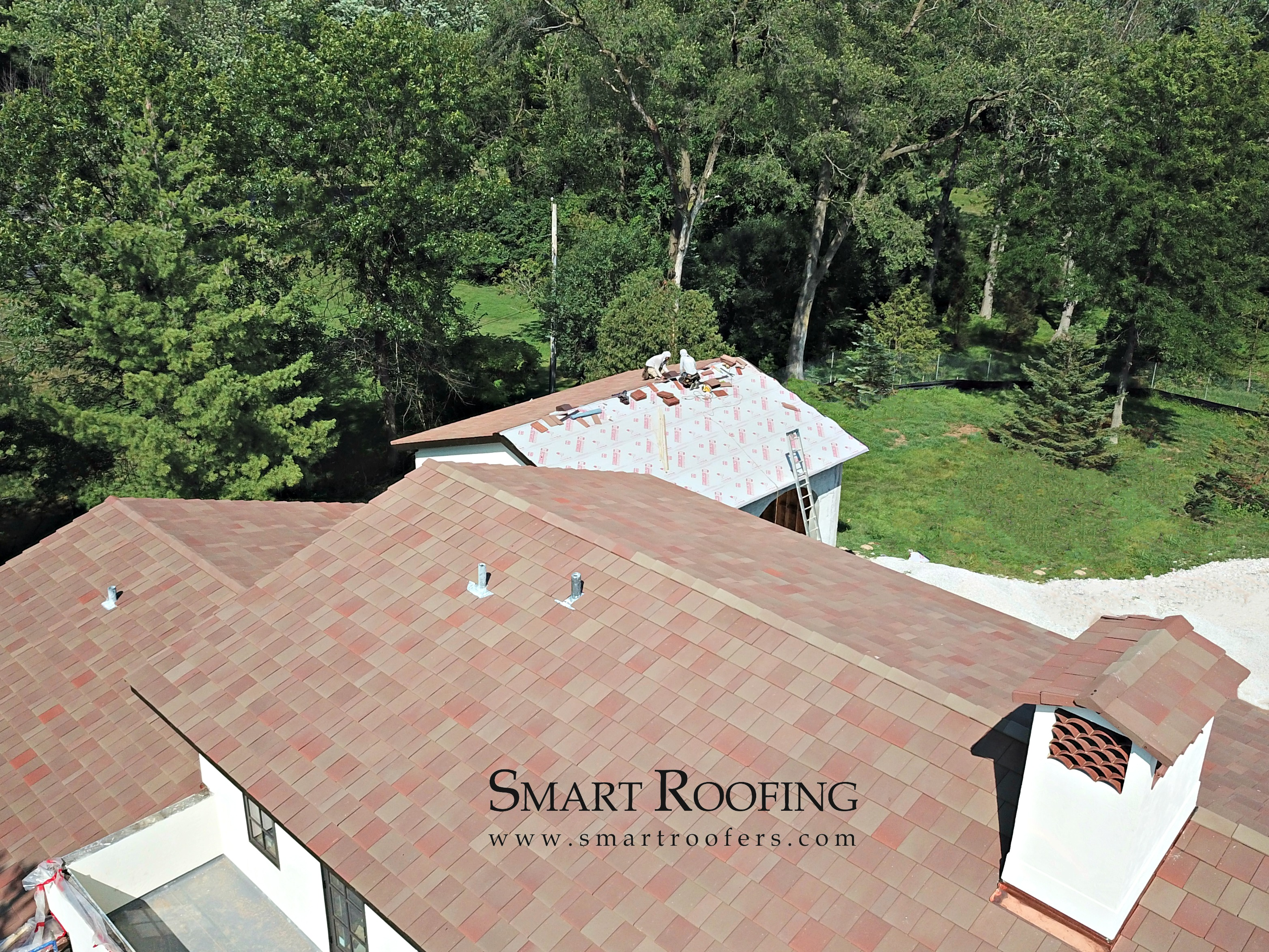 Ludowici Clay Tile Roof In Burr Ridge Smart Roofing