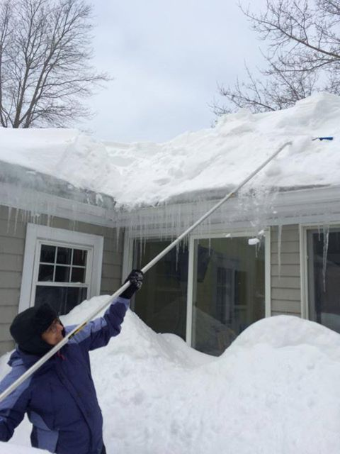 How Much Does Snow On A Roof Weigh Smart Roofing Inc