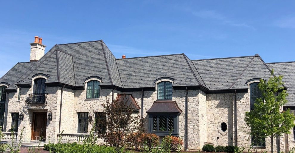 Oak Brook Copper Roof Flat Roof